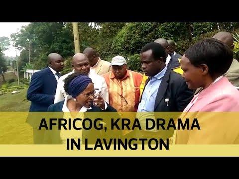 Africog, KRA drama in Lavington