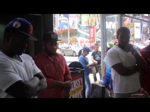 WORD ON THE STREETS: TIMES SQUARE NYC