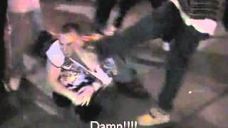 Back Alley MMA Fight with Suplex Knockout