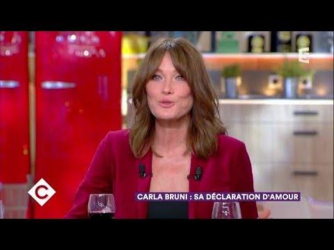 Carla Bruni au dîner - C à Vous - 06/10/2017