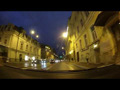 Tallinn, Estonia Night Driving - GoPro Road Video