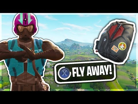 WINGMAN SKIN Can FLY In Fortnite Battle Royale!