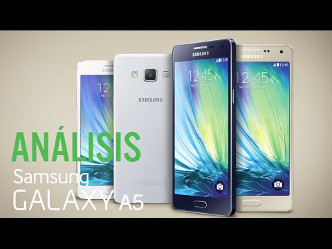 Análisis Samsung Galaxy A5, review en español