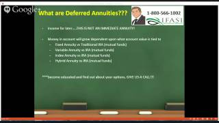 Tax Deferred Annuity - What are tax deferred annuity plans?