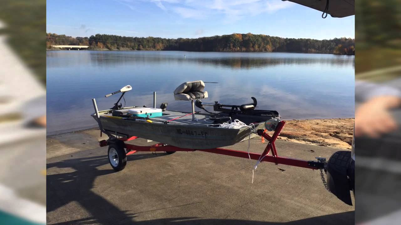 My 12 ft jon boat first fishing trip on october 29 2015 for 12 foot fishing boat