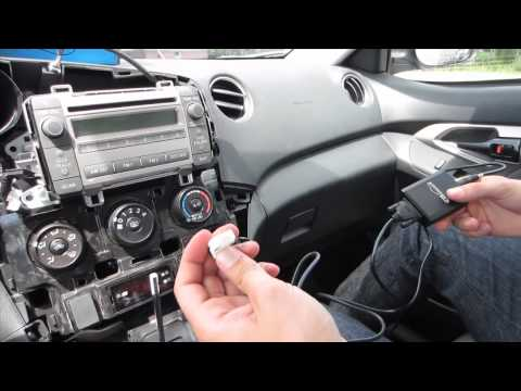 GTA Car Kits - Toyota Matrix 2009-2013 Install Of IPhone And IPod Adapter For Factory Stereo
