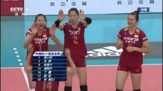 Highlights(Volleyball Rally) CHN vs JPN - Friendly Match 2016