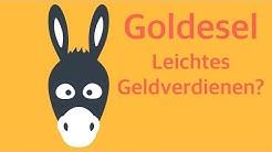 Goldesel - einfach online Geld verdienen oder alles nur Fake? - Review [HD]