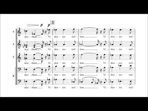 Francis Poulenc - Quatre motets pour le temps de Noël (audio + sheet music)