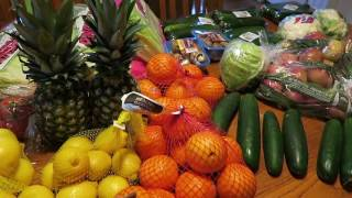 Food Haul - Raw Vegan On A Budget