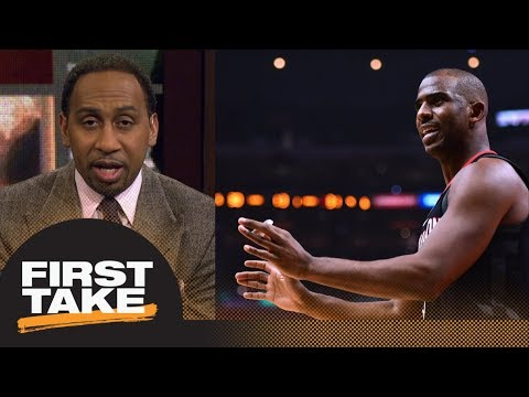 Stephen A. Smith holds Chris Paul accountable for Rockets-Clippers drama | First Take | ESPN
