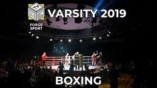 Varsity 2019 LIVE: Boxing
