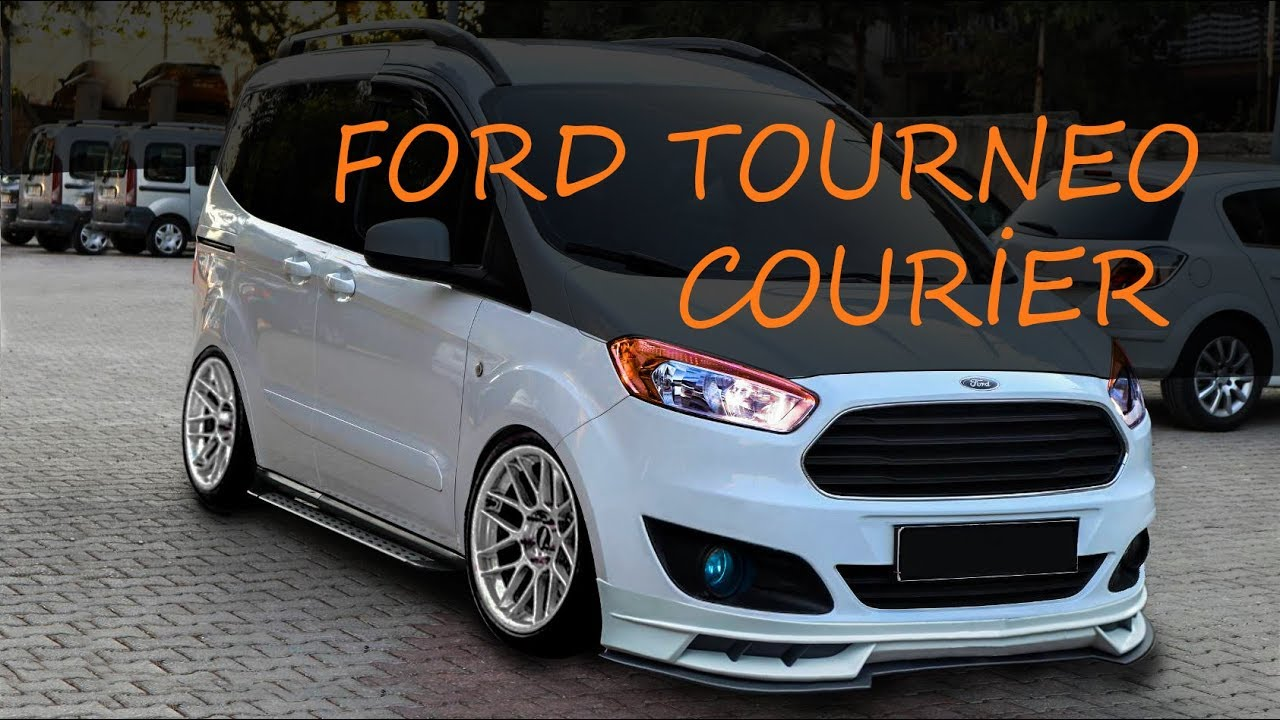 Ford Tourneo Courier Virtual Tuning 7 Youtube
