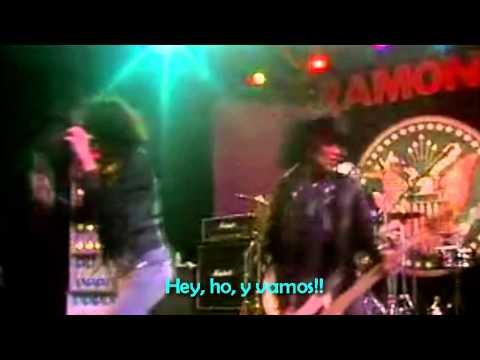 Hey Ho Lets Go - The Ramones - (Subtitulos en Español)