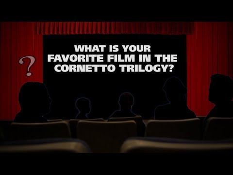 What is your favorite film in the Cornetto Trilogy? - The (Movie) Question!