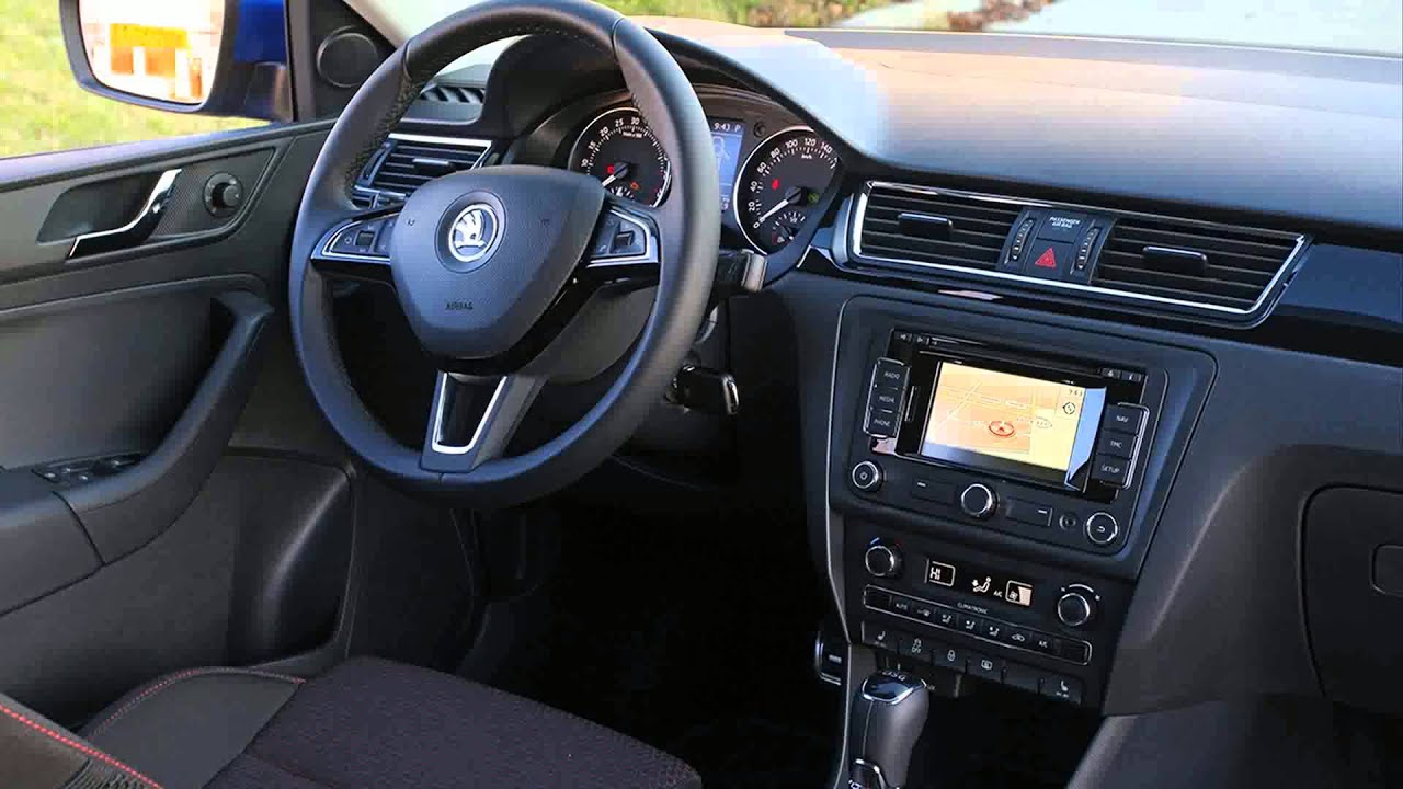 Skoda Rapid Spaceback 1 6 Tdi Elegance Dsg Youtube