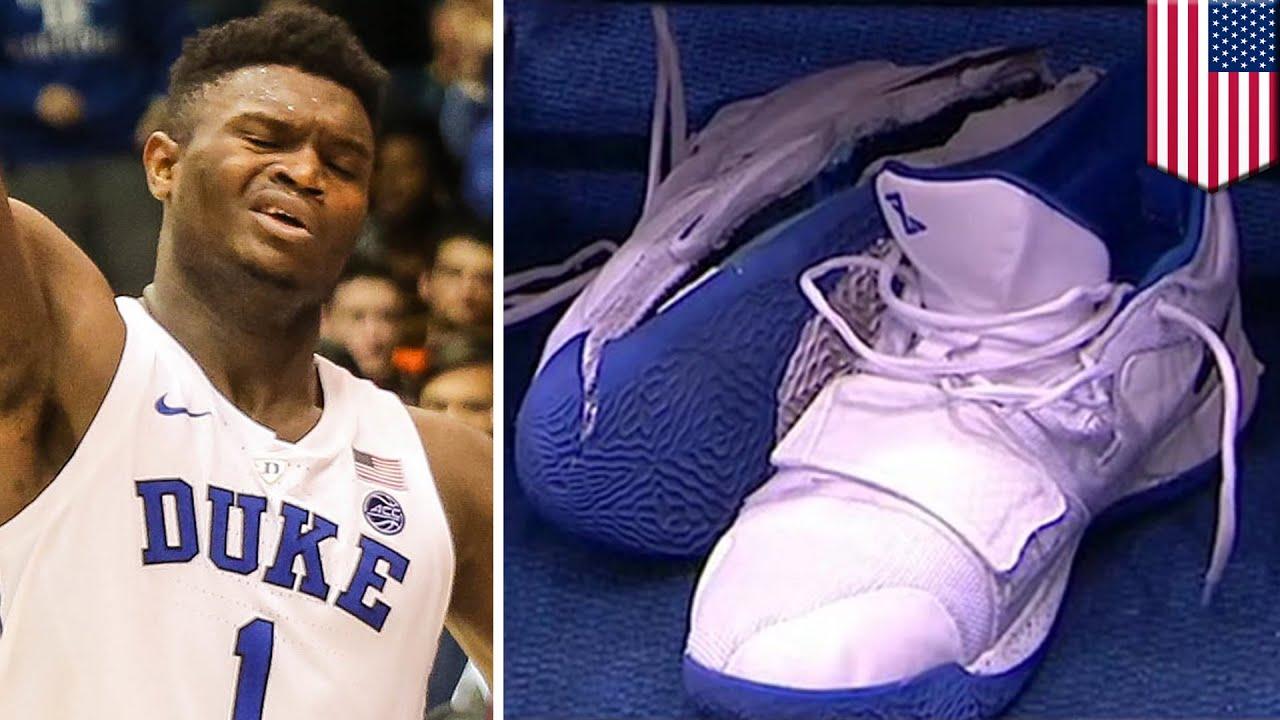 Nike PG 2.5 shoe fell apart - TomoNews