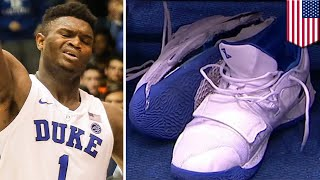 How Zion Williamson's Nike PG 2.5 shoe