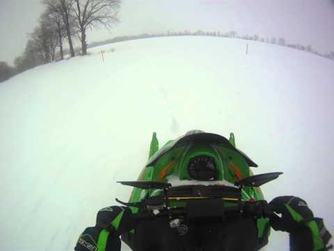 Go Pro Snowmobiling Arctic Cat F6