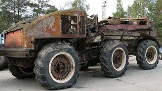 #1720. Home-made Trucks [RUSSIAN CARS]