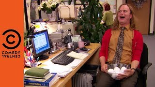 The Ultimate Snowball Battle | The Office US