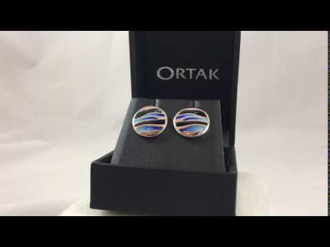 EE342 Ortak Orbit Silver Earrings Oasis