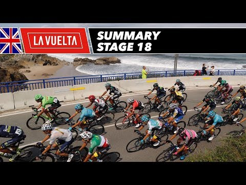Summary - Stage 18 - La Vuelta 2017