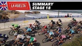 Summary - Stage 18 - La Vuelta 2017