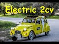 Our Prototype Electric Citroen 2cv  (the 2cev)