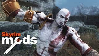 Kratos Nails Corpses - Top 5 Skyrim Mods of the Week