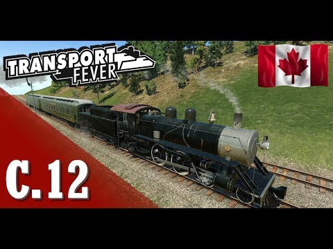 Transport Fever PL - #12 - Kanada pachnąca ... koleją - Osoyoos  :)