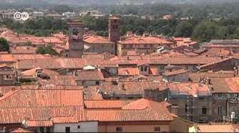 Das toskanische Städtchen Lucca | Euromaxx city