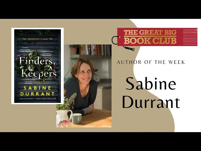 Author of the Week: Sabine Durrant