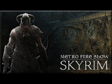 Metrocon 2016 - Metro Fire Show: Skyrim