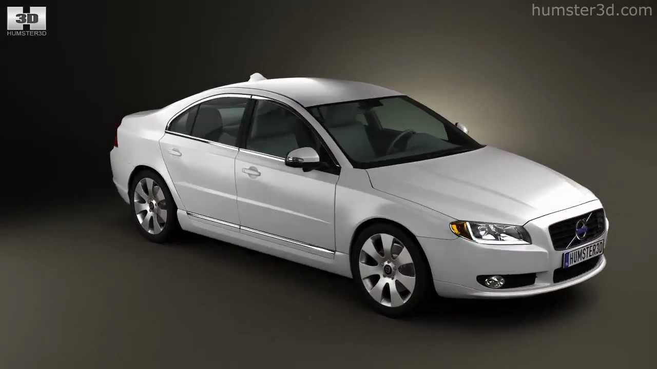 hight resolution of volvo s80 2011 by 3d model store humster3d com