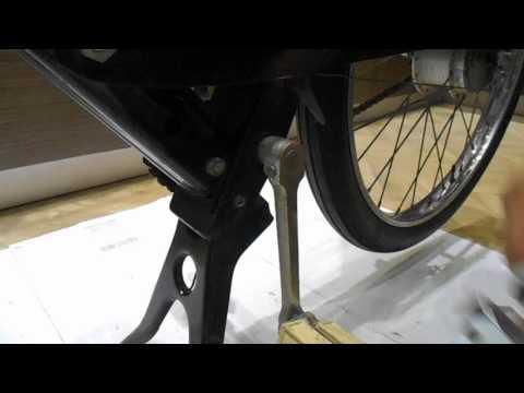 Démontage d'une clavette sur VéloSoleX (ou Mobylette) - Presse clavette VSX