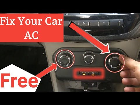 How to Check and Fix Your Car AC for Free|Repair Car AC | Hindi 2018