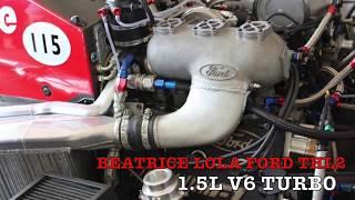 『F1サウンド 』BEATRICE LOLA FORD THL2~Ford F1 V6 Turbo~