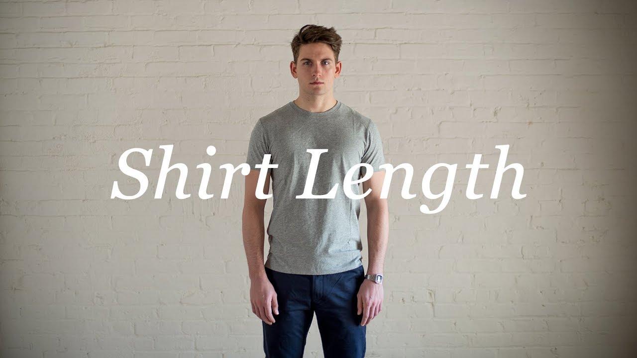 b1b42c110fe How To Measure Your Body  Shirt Length. Proper Cloth