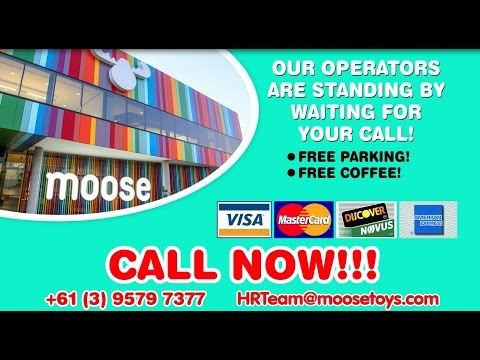 Come work at Moose Toys! Why? Just watch the video!
