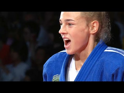 euronews (in English): Spectacular judo as Daria Bilodid crowned 2019 World Champion in Tokyo