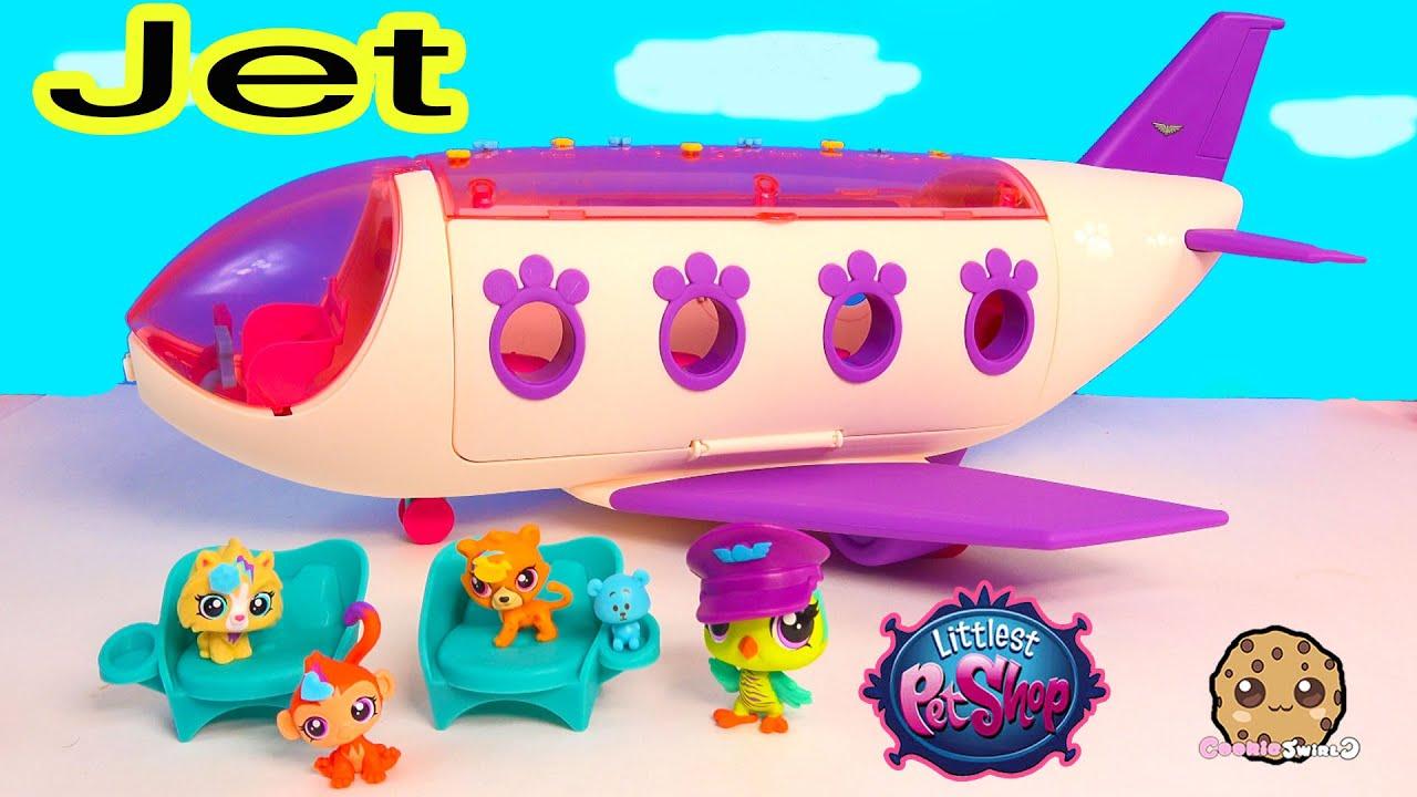 Uncategorized Littest Pet Shop Videos lps airplan jet playset littlest pet shop exclusive bobbleheads toy unboxing video cookieswirlc youtube