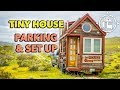 How to Park a Tiny House and Hook Up to Electricity and Water