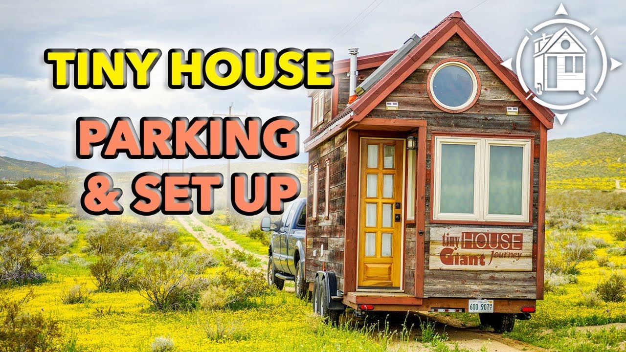 How To Park A Tiny House And Hook Up Electricity Water