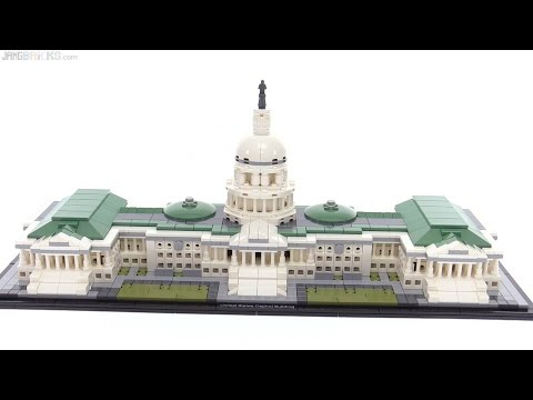 LEGO Architecture United States Capitol Building review! 21030