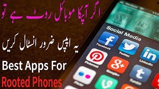 Top Best Rooted Apps in Android Phones Urdu & Hindi