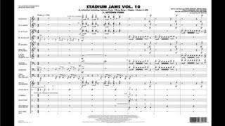 Stadium Jams Vol. 10 arranged by Jay Bocook
