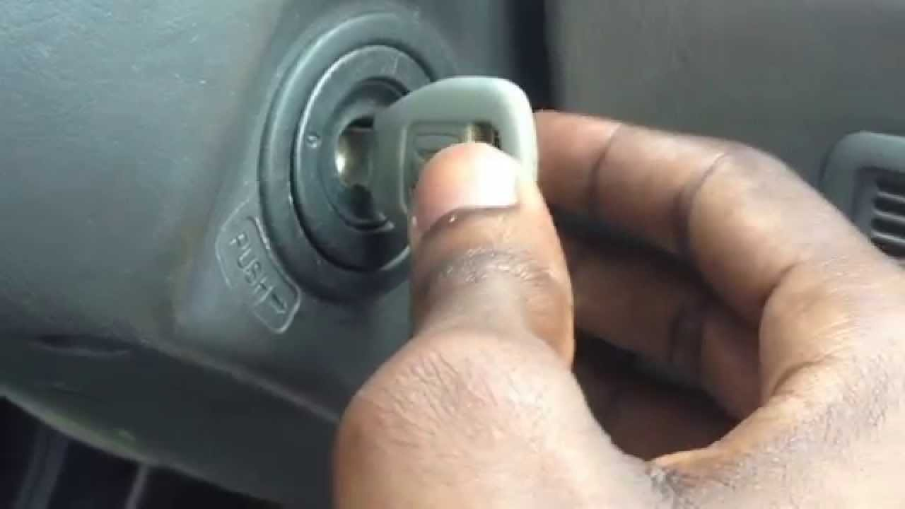 key get stuck in ignition honda accord (quick fix) - youtube