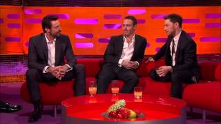 connectYoutube - The Graham Norton Show - S15E05 - Hugh Jackman, Michael Fassbender, James McAvoy