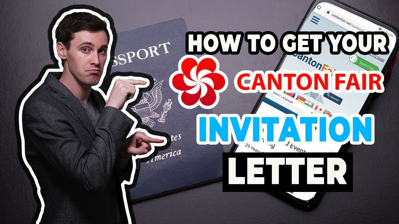 invitation letter for visapplication business sample%0A How to Get Your Canton Fair Invitation Letter  Required for China Business  Visa